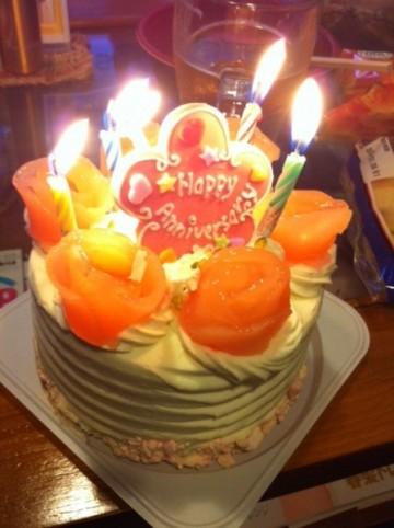 バースデー ケーキ マウジー さん 京都