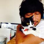 猫 ねこ 白黒 タキシード